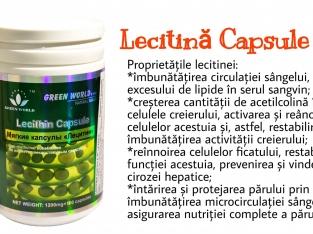 Lecitina Capsule Moi Green World
