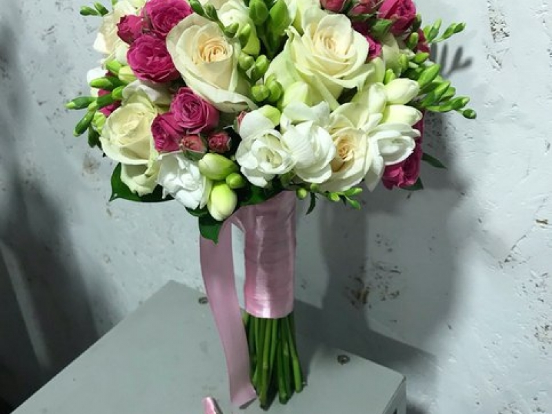 Свадебный букет - выполняем под заказ букеты невесты любой сложности