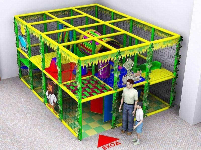 Детские игровые лабиринты, комнаты и мягкие игрушки изготовление проектирование