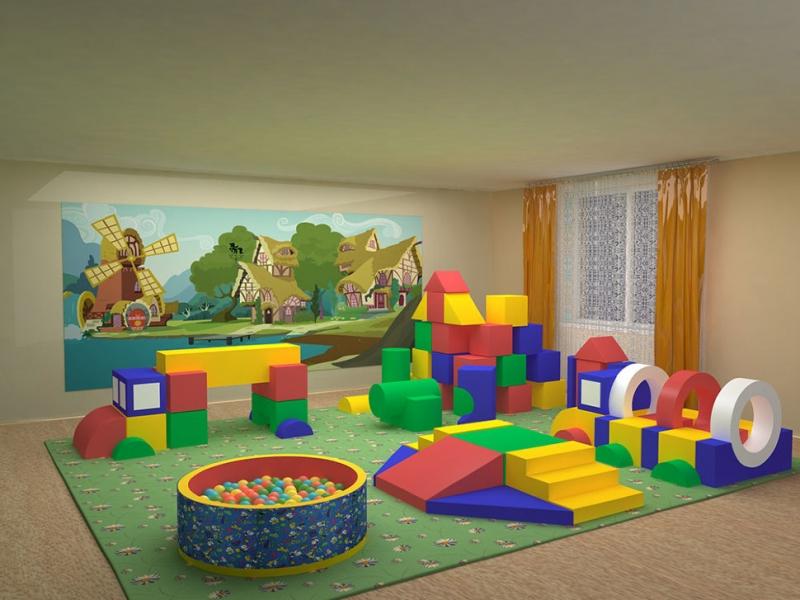 Ринги. Маты. Боксёрский мешок.Мягкие игровые комнаты и площадки для детей