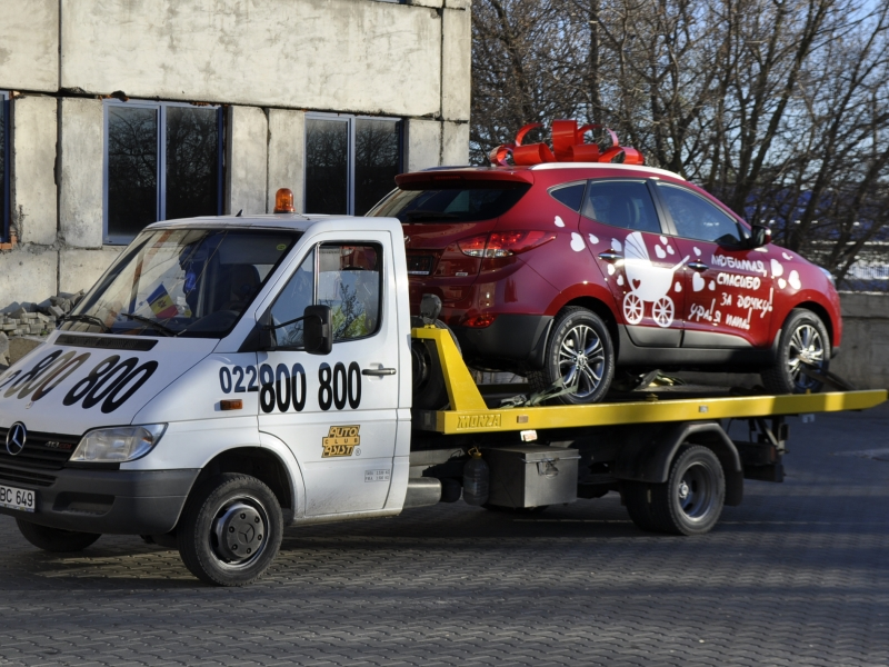 Evacuator Chisinau Moldova Non-Stop!