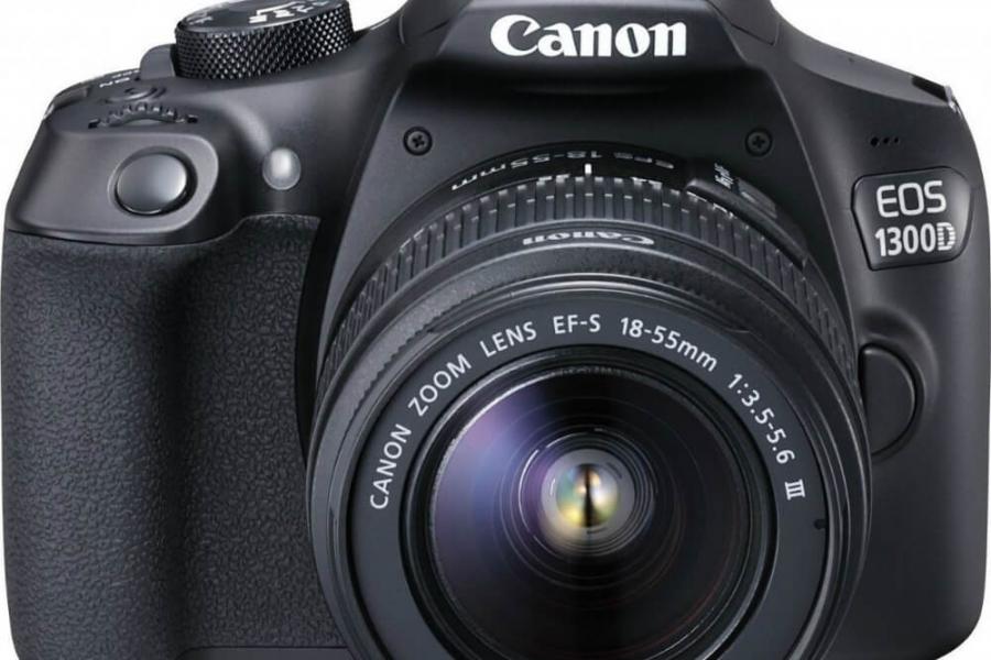 Vand aparat foto Canon EOS 1300D Kit EF-S 18-55mm III