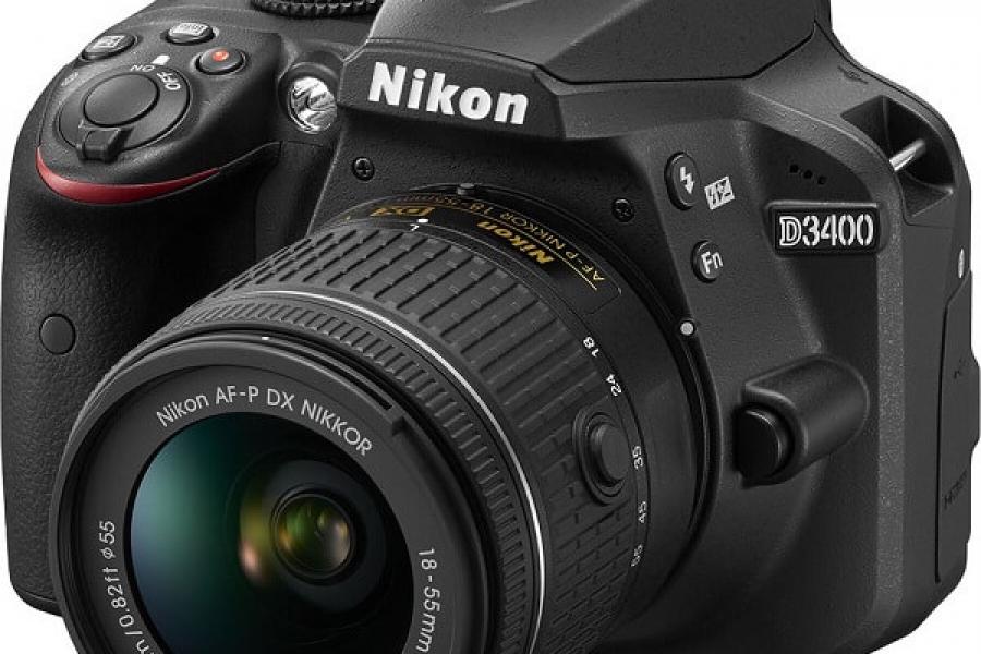 Vand aparat foto Nikon D3400 kit AF-P 18-55 non VR