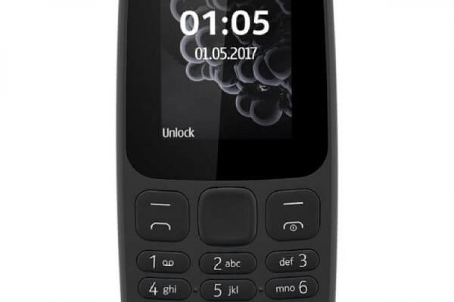 Vand telefon mobil Nokia 105 2017 Dual Sim black
